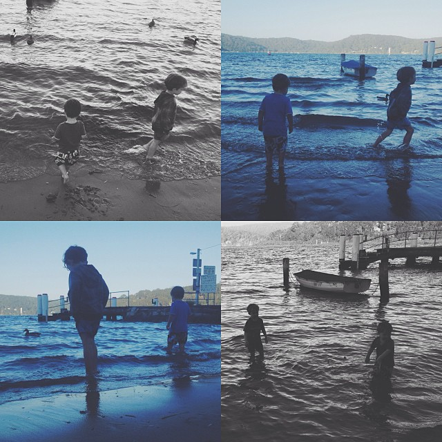 BOYS // BLUE & GREY #WATER