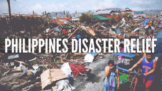 PHILIPPINES DISASTER RELIEF (PHOTO AFP)