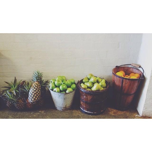 FRUIT + BUCKET